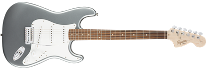 Squier Affinity Stratocaster Electric Guitar Rosewood Slick Silver