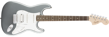 Squier Affinity Stratocaster HSS Electric Guitar RW Slick SIlver