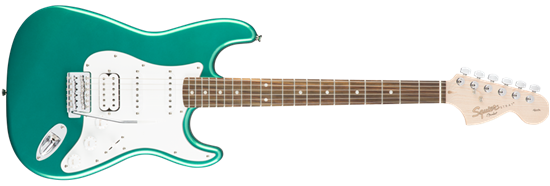 Squier Affinity Stratocaster HSS Electric Guitar RW Race Green