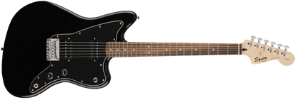 Squier Affinity Jazzmaster HH Electric Guitar Black