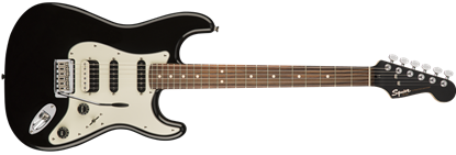 Squier Contemporary Stratocaster HSS Electric Guitar Black Metallic