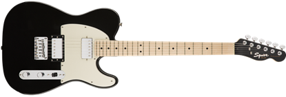 Squier Contemporary Telecaster HH Electric Guitar Black Metallic