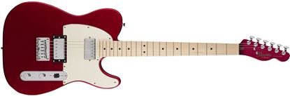 Squier Contemporary Telecaster HH Electric Guitar Dark Metallic Red