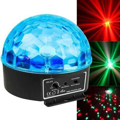 Beamz Starball Mini DJ LED Jelly Ball Disco Light