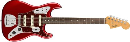 Fender Parallel Universe Jaguar Stratocaster Electric Guitar - Candy Apple Red