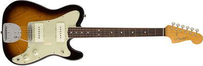 Fender Parallel Universe Jazz-Tele Hybrid Electric Guitar - Rosewood Fretboard - 2 Tone Sunburst