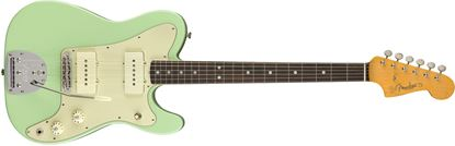 Fender Parallel Universe Jazz-Tele Hybrid Electric Guitar - Surf Green