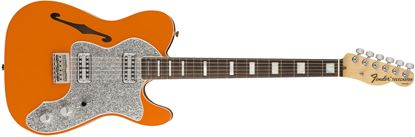 Fender Parallel Universe Thinline Super Deluxe Telecaster Electric Guitar - Orange