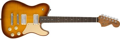 Fender Parallel Universe Troublemaker Telecaster Electric Guitar - Rosewood Fretboard - Ice Tea Burst