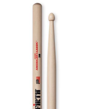 Vic Firth American Classic 2B Wood Tip Drumsticks