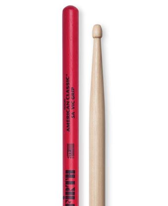Vic Firth American Classic 5A Vic Grip Wood Tip Drumsticks