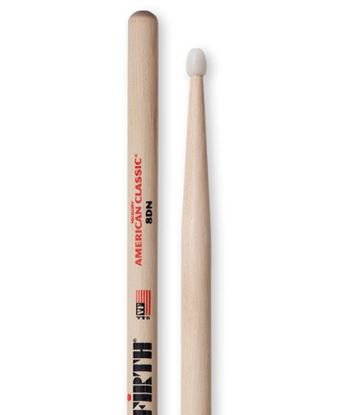 Vic Firth American Classic 8DN Nylon Tip Drumsticks