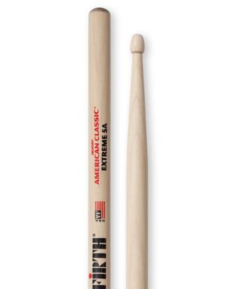 Vic Firth American Classic Extreme 5A Wood Tip Drumsticks