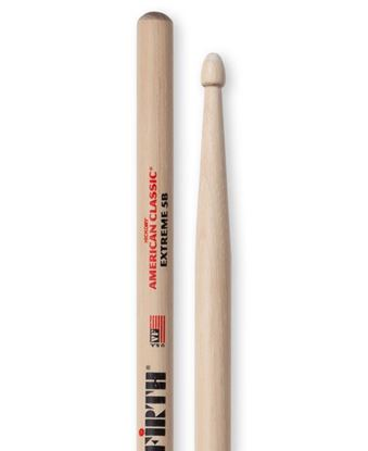 Vic Firth American Classic Extreme 5B Wood Tip Drumsticks
