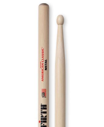 Vic Firth American Classic Wood Tip Metal Drumsticks