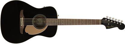Fender California Malibu Player Acoustic Guitar - Jetty Black