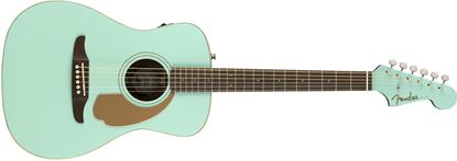 Fender California Malibu Player Acoustic Guitar - Aqua Splash