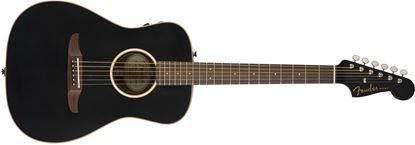 Fender California Malibu Special Acoustic Guitar - Matte Black