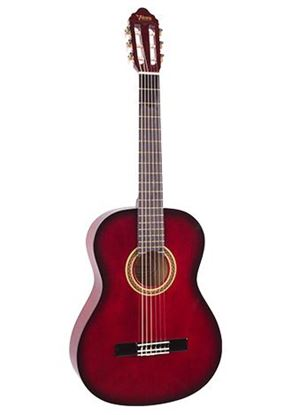 Valencia VC102RDS 1/2 Size Classical Guitar - Red Sunburst