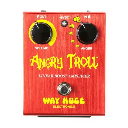 Jim Dunlop Way Huge Angry Troll Boost Guitar Effects Pedal