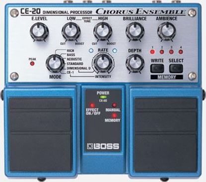 Boss CE-20 Chorus Ensemble Programmable Guitar Effects Pedal (CE20)