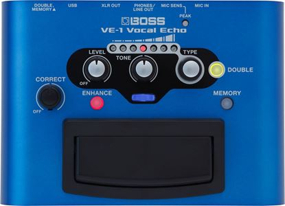 Boss VE-1 Vocal Echo Vocal Effects Pedal (VE1)