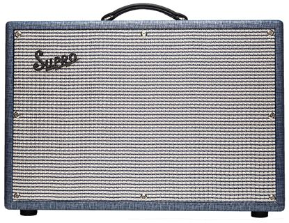 Supro 1648RT Saturn Reverb 15 Watt Combo Guitar Amplifier - 1x12 Inch Speaker