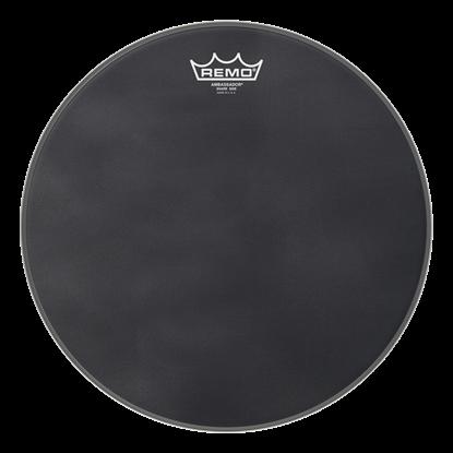 Remo Ambassador Black Suede Snare Side 13 Inch Drumhead