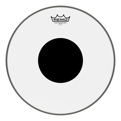 Remo Controlled Sound Clear Black Dot 14 Inch Drumhead