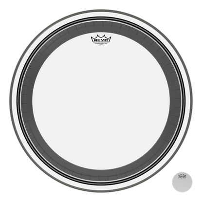 Remo Powerstroke Pro Clear 24 Inch Bass Drumhead