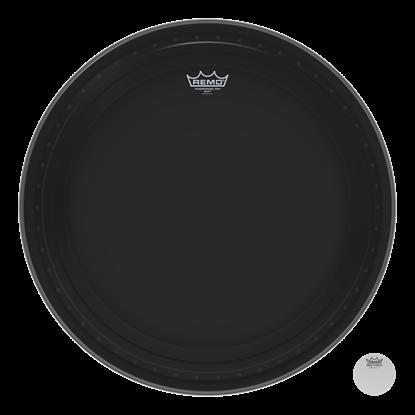 Remo Powerstroke Pro Ebony 24 Inch Bass Drumhead