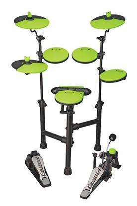 Carlsbro CSD130 Electronic Drum Kit (5 Piece Green)