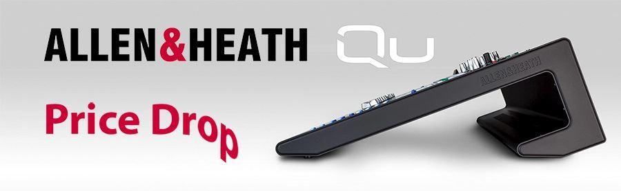 Allen & Heath Qu-Series Digital Mixers Price Drop!