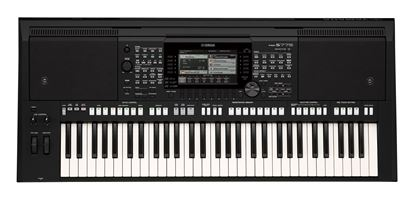 Yamaha PSR-S775 61-Key Arranger Workstation Keyboard - Top View