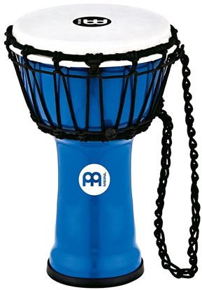Meinl Percussion JRD-B JR 7 Inch Djembe Blue