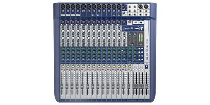 Soundcraft Signature 16 16-Input Small Format Analog Mixing Console