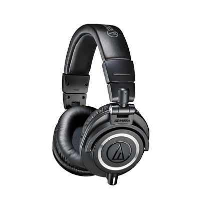 Audio-Technica ATH-M50x Studio Monitor Headphones Black (ATHM50XBK)