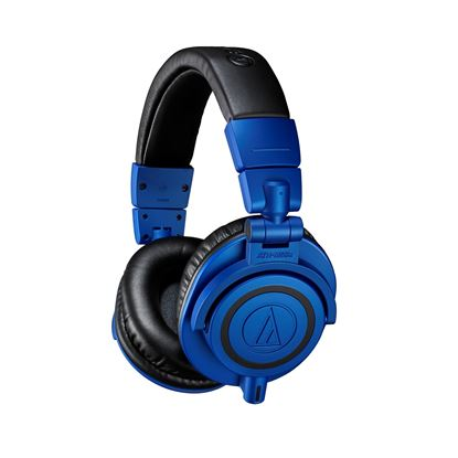 Audio-Technica ATH-M50x Limited Edition Headphones Black Blue (ATHM50XBB)