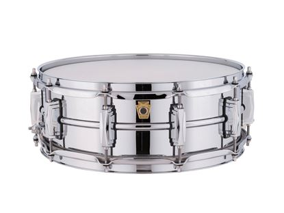 Ludwig LM400B Supraphonic 5x14 Inch Snare Drum Copper Over Brass Shell