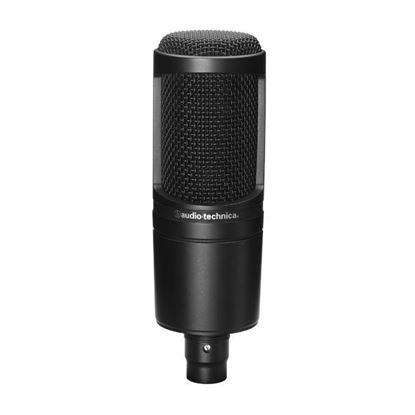 Audio Technica AT2020BK Large Diaphragm Condenser Microphone Black