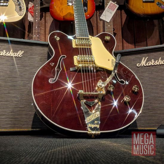 gretsch g6122t players edition country gentleman electric guitar with bigsby walnut stain. Black Bedroom Furniture Sets. Home Design Ideas