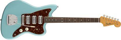 Fender Limited Edition 60th Anniversary Triple Jazzmaster Electric Guitar Rosewood Fingerboard Daphne Blue