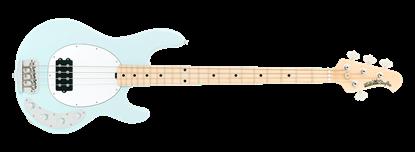 Ernie Ball Music Man StingRay 4 Electric Bass Guitar Powder Blue w Maple Fretboard