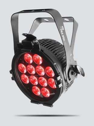 Chauvet SlimPAR Pro H USB Washlight w 12 x 10 Watt Hex-color RGBAW+UV LEDs USB Compatible with Powercon