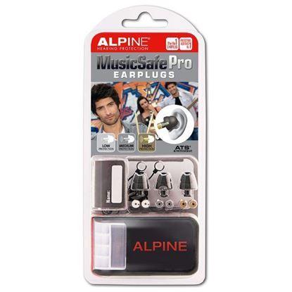 Alpine Hearing Protection MusicSafe Pro Earplugs (Black)