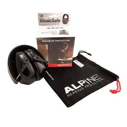 Alpine Hearing Protection MusicSafe Earmuff (For Drummers)