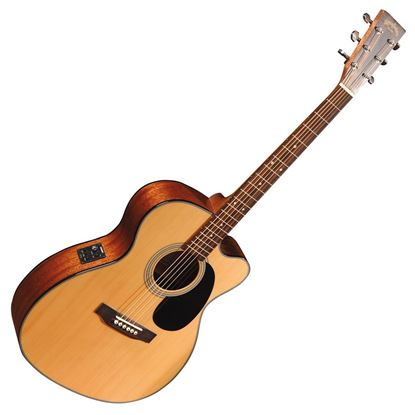 Sigma 000MC-1STE Acoustic Guitar With Pickup - Natural