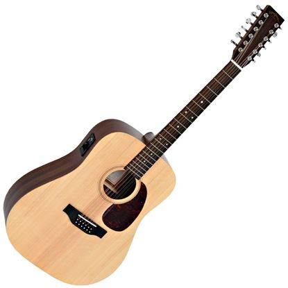Sigma DM12-E 12-String Dreadnought with Pickup - Natural
