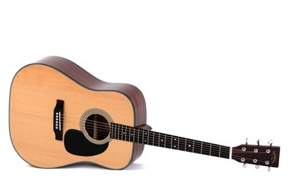 Sigma DMC-1STE 1-Series Dreadnought Acoustic Guitar with Pickup - Natural (DMC1STE)