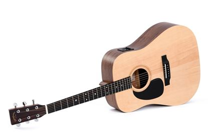 Sigma DMEL Dreadnought Acoustic Guitar with Pickup (Natural, Left-Handed)
